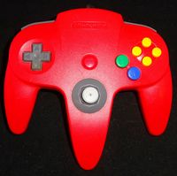 Nintendo 64 (N64): Controller (Red)